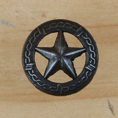 TEXAS STAR/BARB WIRE TACK ~ Decorative Upholstery Craft Nail { Set of 6 } by PLD