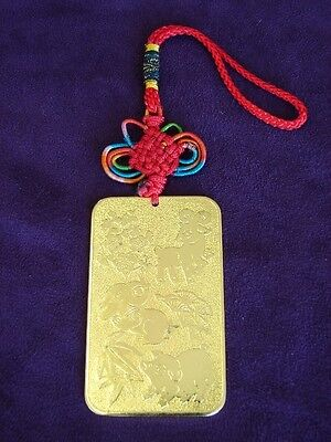 Feng Shui Chinese Horoscope Ally Amulet for Rabbit, Sheep and Pig