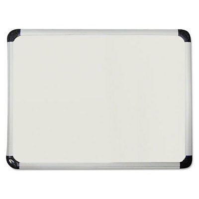 Universal One Porcelain Magnetic Dry Erase Board, 48 x 36, White