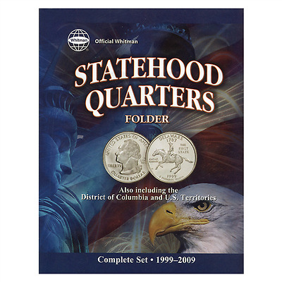 Coin Folder - State Quarters Collection (1999-2009) - Date Set - Whitman Brand