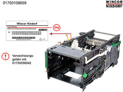 WINCOR ATM CMD Stacker Module With Single Reject PN: 1750109659