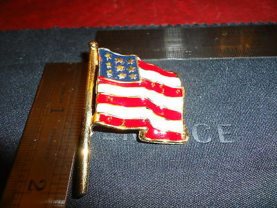 """Large American Usa 1 3/8"""" Flag Pin Patriotic Political Olympics Rio Support Usa"""