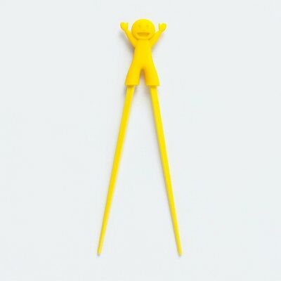 Barel Melamine Original Funstix Yellow Chopsticks - Kids, Adults, Beginners NEW!