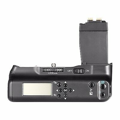 Meike MK-550D LCD Battery Grip For Canon 550D 600D 650D 700D as BG-E8 w/ 2*LP-E8