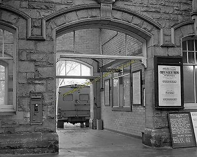 Warkworth to Alnmouth and Longhoughton. 12 Alnwick Railway Station Photo