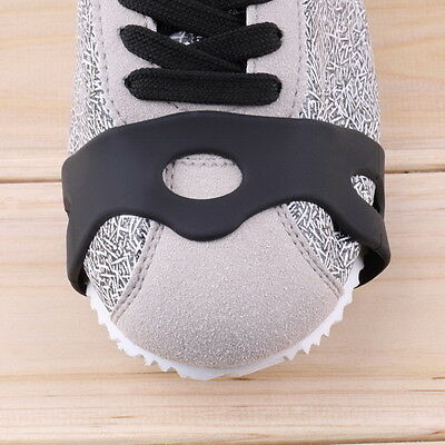 Anti Slip Snow Ice Climbing Spikes Grips Crampon Cleats 5-Stud Shoes Cover DE