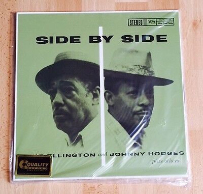 Duke Ellington Johnny Hodges Side By Analogue Productions Verve 45RPM 200g 2-LP