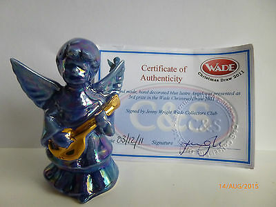 WADE BLUE LUSTRE ANGEL 3rd prize in wade christmas raffle draw 2011