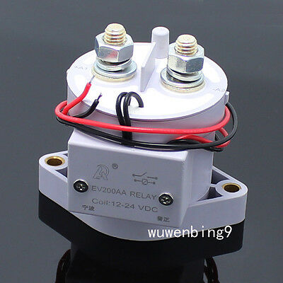1PC - 12V 24V 36V EV200 1000A car relay DC electric car master switch