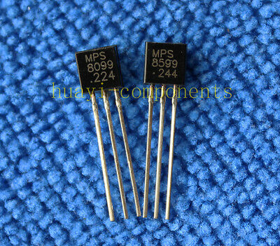 5pairs MPS8099/MPS8599 MPS8099G/MPS8599G ORIGINAL Transistor MOTOROLA/ON TO-92