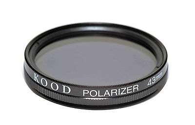 43mm High Quality Kood Linear Polarizing Filter Made in Japan Polarizer 43mm