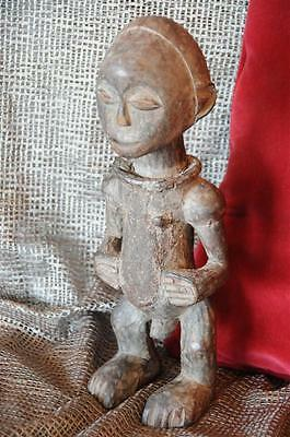 Old Carved African Male Ceremonial Figure…  wonderful patina & age...