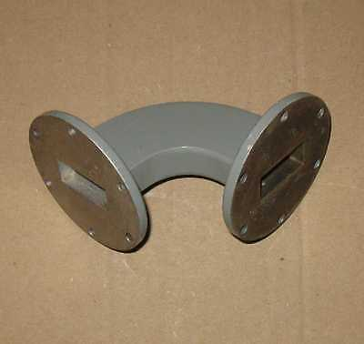 90 Degree H-Bend Waveguide WR-137 C Band 5.85-8.2 GHz