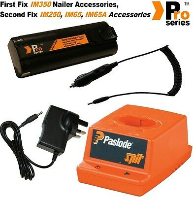 1xProSeries Battery for Paslode nailer/Wall Charger/Paslode  Base/In Car Charger