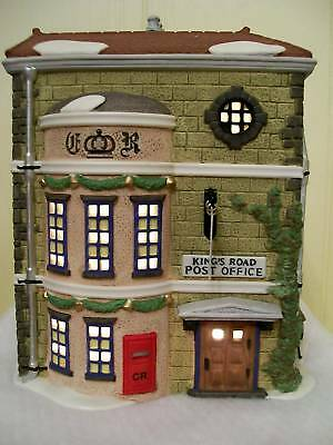 Dept 56 Dickens Village Series King's Road Post Office