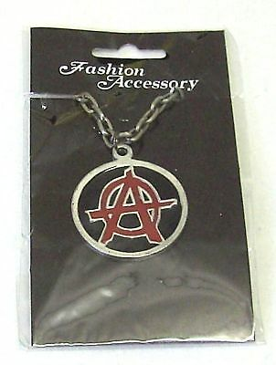 Halskette Anarchie Kette Biker Bike Iron Cross