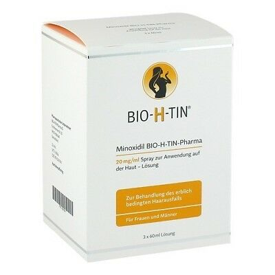 MINOXIDIL BIO-H-TIN Pharma 20 mg/ml Spray Lsg. 180ml 10391786