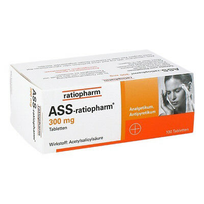 ASS RATIOPHARM 300 mg Tabl. 100St PZN 03372469