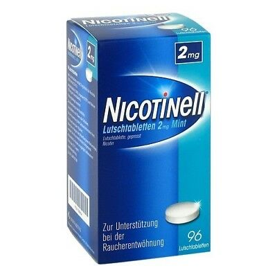 NICOTINELL Lutschtabletten 2 mg Mint 96St PZN 07006454