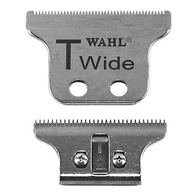 WAHL DETAILER NEW T-WIDE Double Wide BLADE SET 5 Star Series NEW With 2 Screws
