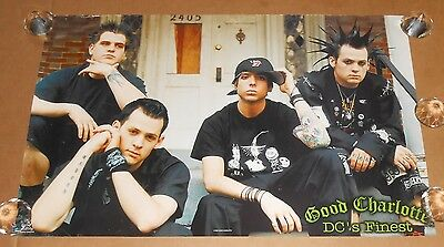 Good Charlotte DC's Finest Poster Original 35x23 Funky #6579