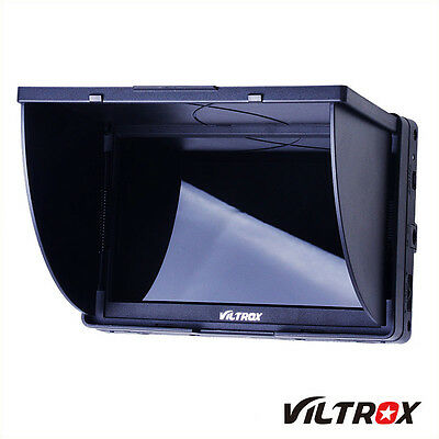 New Viltrox 5'' DC-50 Clip-on Color TFT LCD Monitor HDMI AV Input for Canon Sony