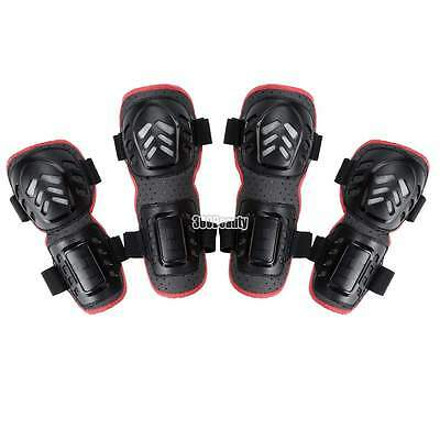 4Pcs/set Knee Elbow Protective Gear Safeguard For Mountain Bike Motobike Adult