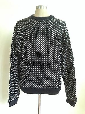 Vintage Ll Bean Wool Norway Sweater Men's Xl Great Condition
