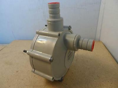 """Siebec Pump Head Model Unknown Approximately 3/4"""" ID Inlet & Outlet"""