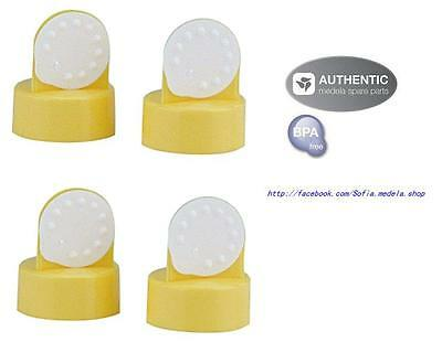 4 Medela Replacement Valves and Membranes  for breast pump - New  (2 pairs)