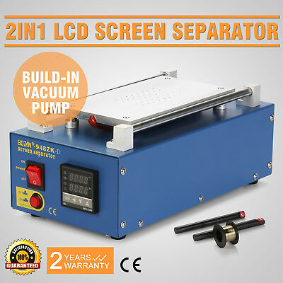 LCD Separator Screen Machine with Built-in Vacuum Pump For Samsung Iphone