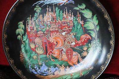 Old Russian Collectors Plate…  beautiful colours and design...