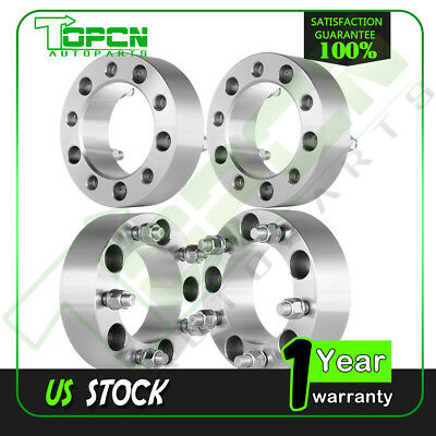 "4x 2"" Inches Wheel Spacers 5x5.5"" For Dodge Ram 1500 Van Ramcharger W150 Ford"
