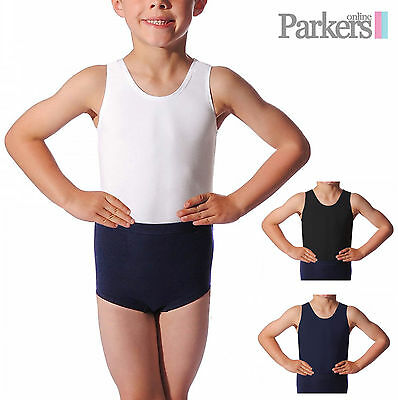 New Mens Boys Dance Gymnastic Oliver Leotard Age 2-10 Years S M L