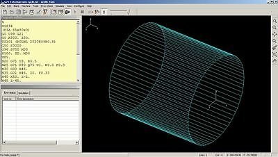 seeNC Turn - CNC program simulator software for students