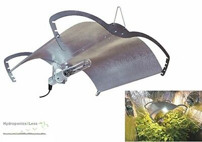 PowerPlant Mantis Dutch Adjustable Reflector Hydroponic Light Ballast MH HPS CFL
