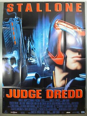 Judge Dredd - Sylvester Stallone - Original French Grande Movie Poster
