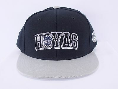 cheaper 0488e e52d8 Georgetown Hoyas Ncaa Adult Snapback Cap Hat By Top Of The World (D78)