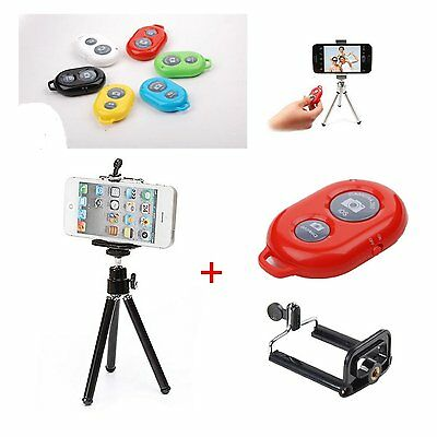 Rotatable Tripod Mount Stand Holder For iPhone 7 6s 6 5 5S 4 Galaxy S3/S4 phone