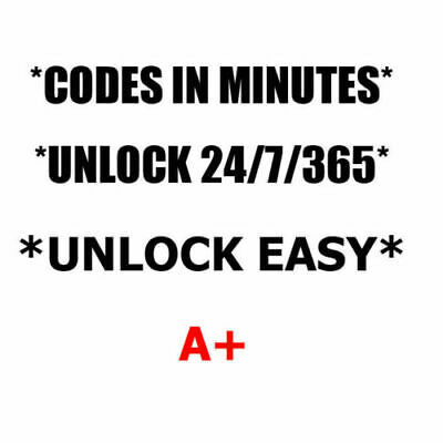 Unlock code LG Escape2 H445 LG Risio H343 LG H634 Cricket Wireless ONLY