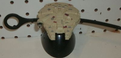 Star Wars - Millenium Falcon -  With Stand & Puller  - 4 Inches Long