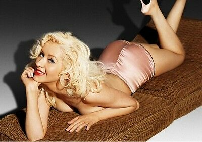 Christina Aguilera 8x10 Glossy Photo Print #CA7