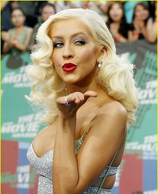 Christina Aguilera 8x10 Glossy Photo Print #CA9