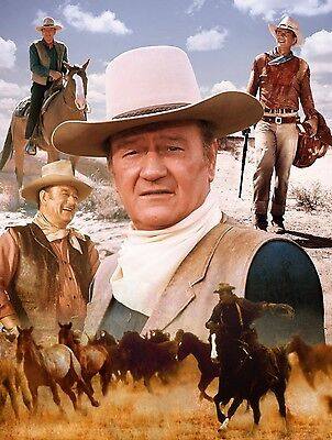 John Wayne 8x10 Glossy Photo Print #JW1