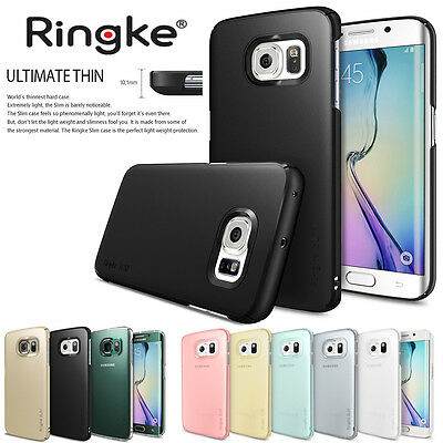 Ringke Dual Coated Ultra Slim Hard Thin Cover For Samsung Galaxy S6 S6 Edge Case