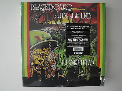 "Lee Scratch Perry & The Upsetters: Blackboard Jungle Dub 3 x 10"" Vinyl + Poster"