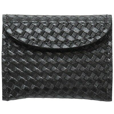 New Authentic Safariland Black Basketweave  Surgical Glove Pouch 33-3-4V