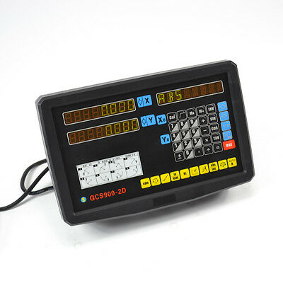 High Precision Dro 2 Axis Digital Readout Console Display Kits With Linear Scale