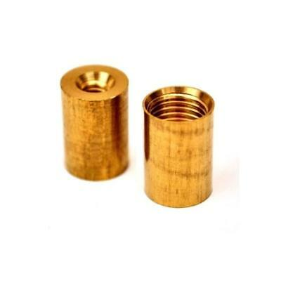 Brass Snooker Cue Ferrules for Screw In Cue Tips - 11mm & 12mm
