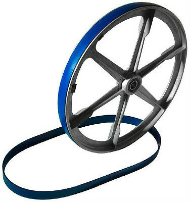 3 Urethane Bandsaw Tires And Round Drive Belt Set For Grizzly G1015 Band Saw